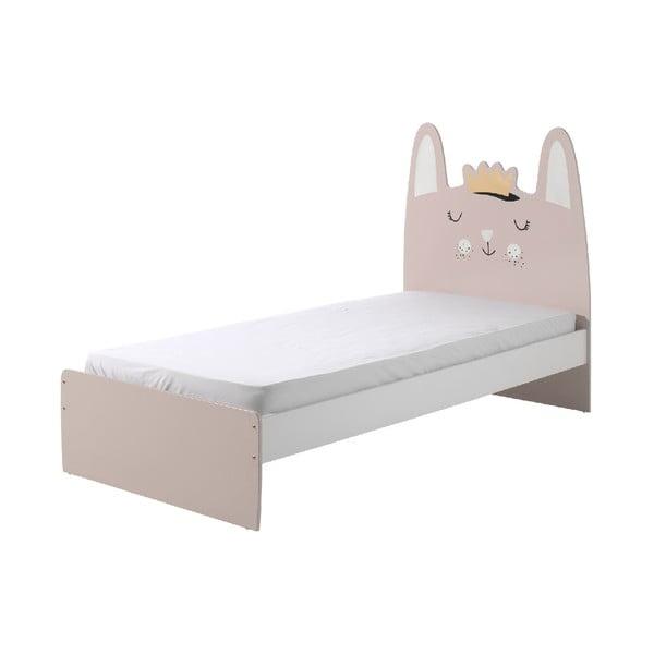 Łóżko dziecięce Vipack Rabbit, 90x200 cm