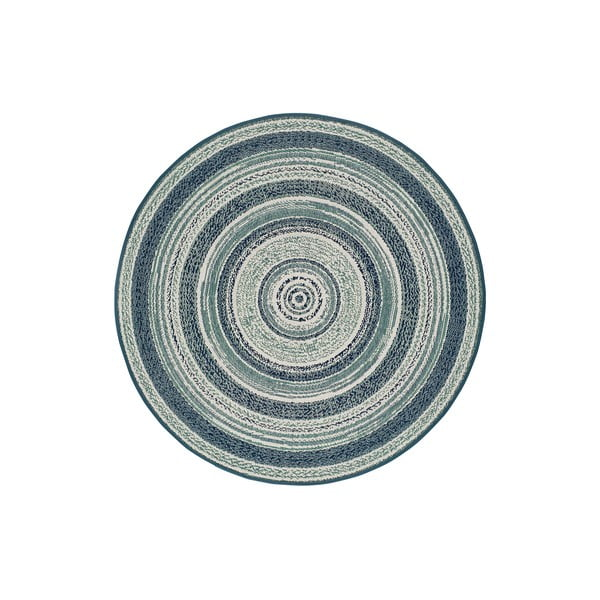 Niebieski dywan odpowiedni na zewnątrz Universal Verdi, ⌀ 120 cm
