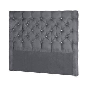 Tăblie pentru pat Stella Cadente Maison Pegaz, 180 x 118 cm, gri de la Stella Cadente Maison