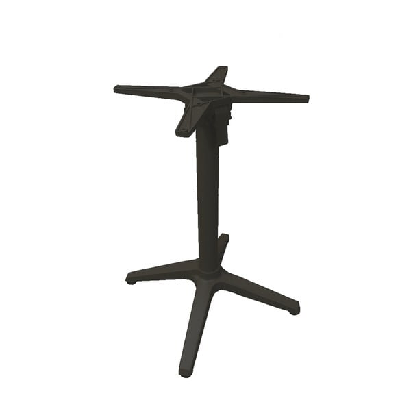 Tmavě šedá noha k zahradnímu stolu Ezeis Rotonde, výška 72 cm