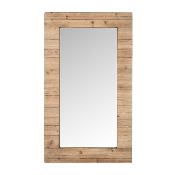 Zrcadlo v dřevěném rámu Nata, 120x70 cm