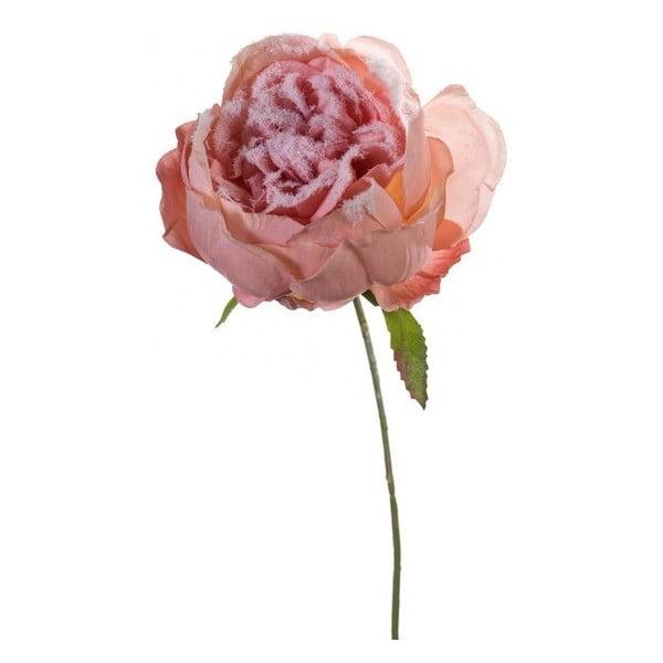 Umělá květina Růže stolistá