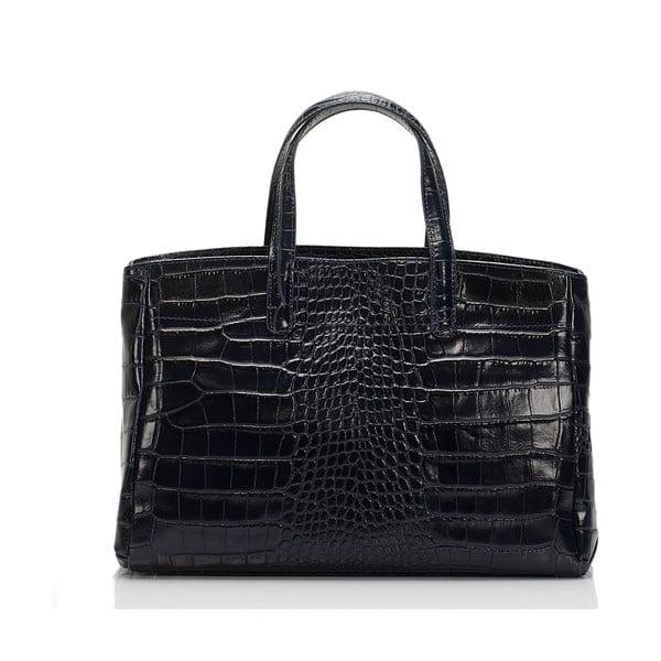 Modrá kožená kabelka Lisa Minardi Magnata