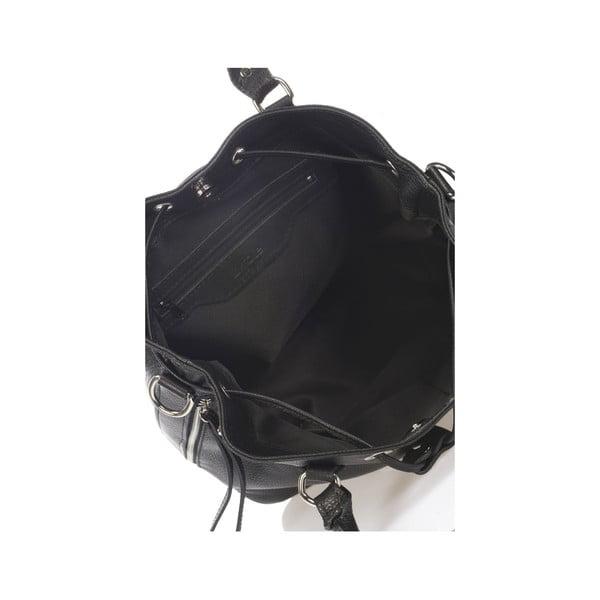 Kožená kabelka Krole Kenna, černá