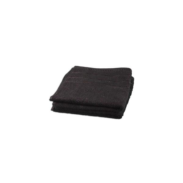 Osuška Berlin Black, 70x140 cm