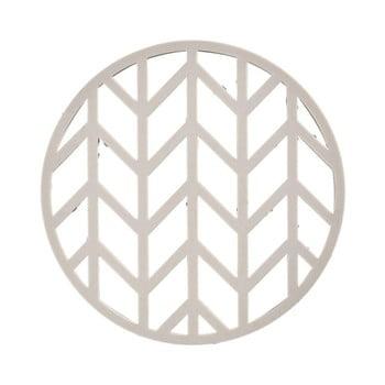Suport din silicon pentru oale fierbinți Zone Crop, ⌀ 14,5 cm, gri deschis de la Zone