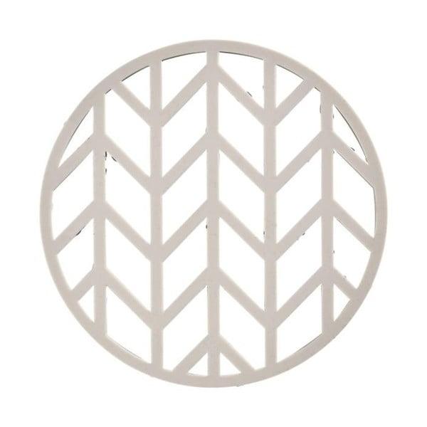 Crop világosszürke szilikon edényalátét, ⌀ 14,5 cm - Zone