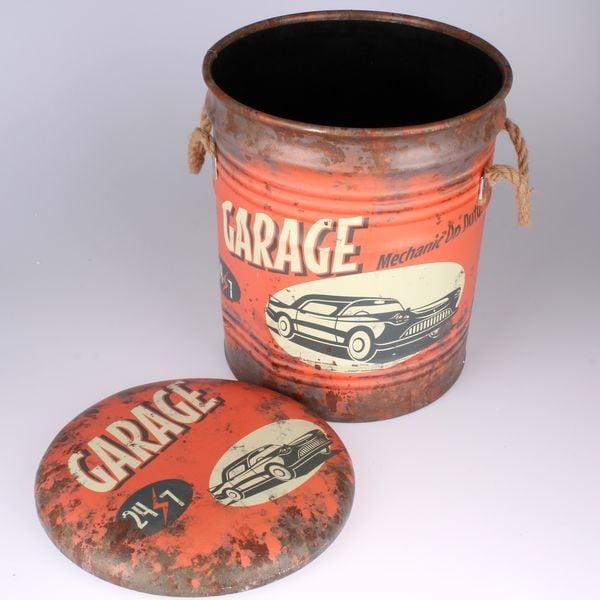 Taburetka s úložným prostorem Garage
