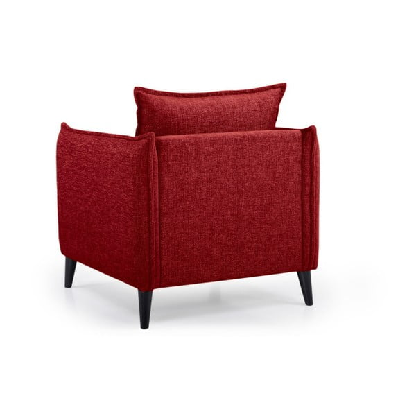 Leo piros fotel - Softnord