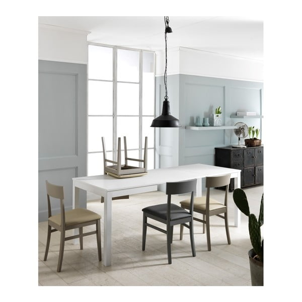 Bílý jídelní stůl Design Twist Kaedi
