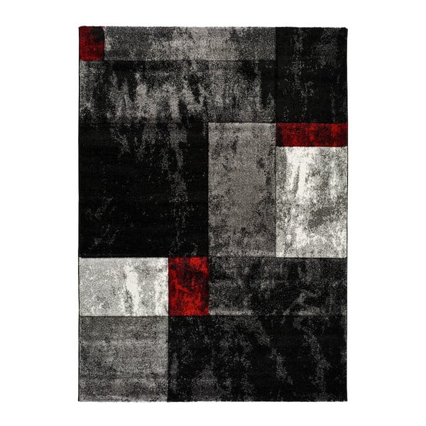 Šedý běhoun Universal Skat, 60 x 120 cm