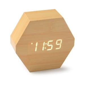 LED hodiny z bambusového dřeva Versa Table Clock