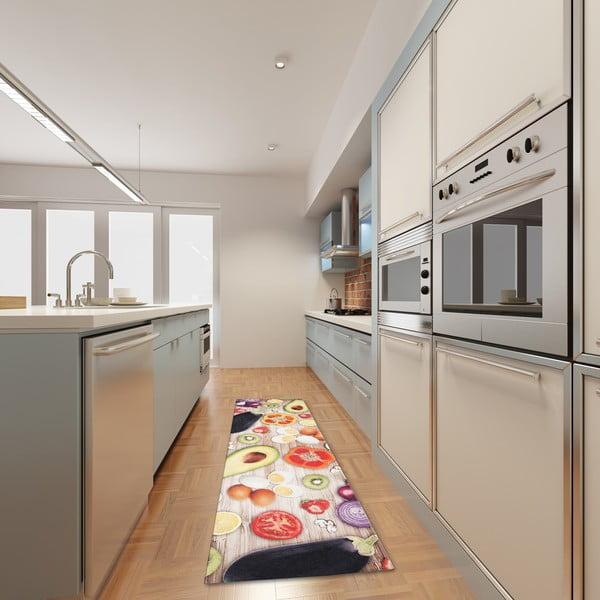 Covor de bucătărie foarte rezistent Webtapetti Food, 60x220cm
