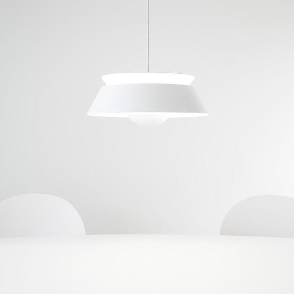 Bílé stínidlo VITA Copenhagen Cuna, Ø38cm