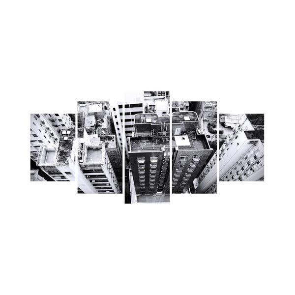 Vícedílný obraz Black&White no. 17, 100x50 cm