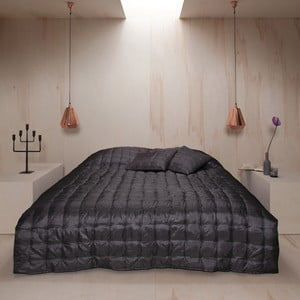 Přehoz přes postel Versailles Basalt, 270x270 cm