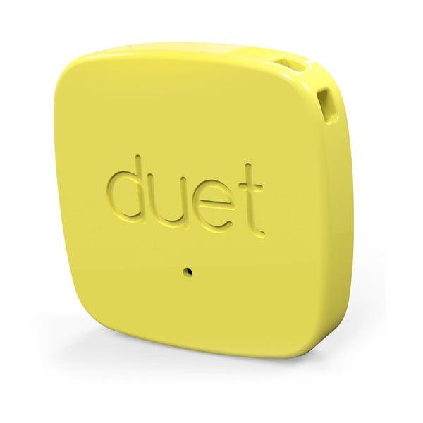 Lokátor zapomenutých věcí Duet Protag, žlutý