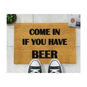 Rohožka Artsy Doormats Come Again and Bring Beer,40x60cm