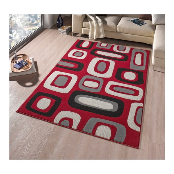 Koberec Hanse Home Hamla Willy Red, 80 x 200 cm