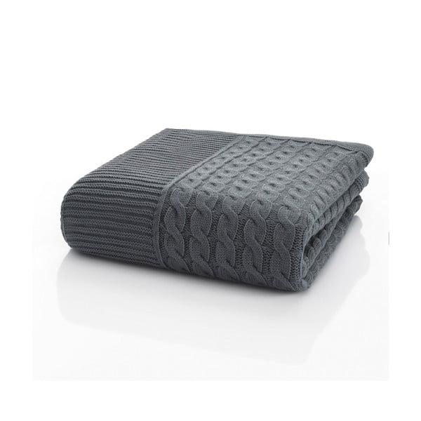 Pletená deka Marvel Grey, 130x170 cm