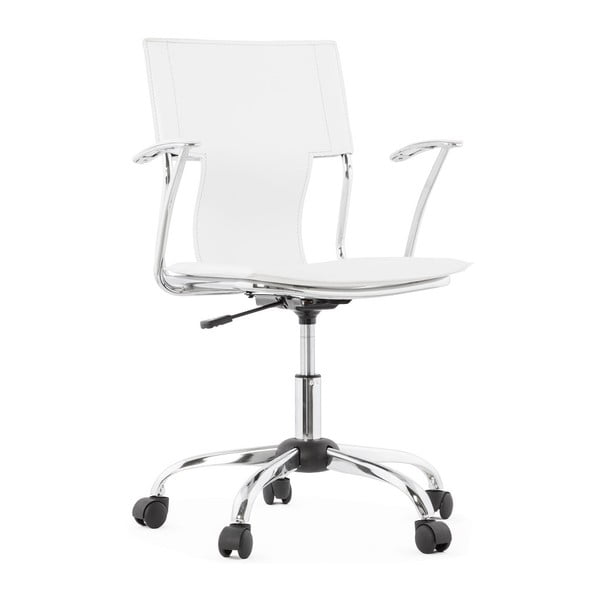 Bílá kancelářská židle Kokoon Oxford