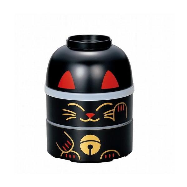 Dětský svačinový box Kokeshi Cat, 850 ml