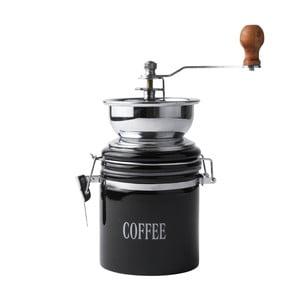 Černý porcelánový mlýnek na kávu Galzone Coffee Mill