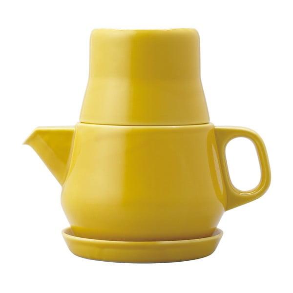 Čajový set Couleur, žlutý