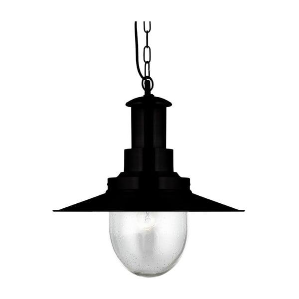 Stropní svítidlo Searchlight Fisherman Shiny, černá