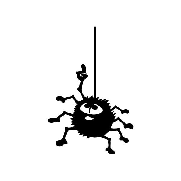 Autocolant Ambiance Hanging Spider