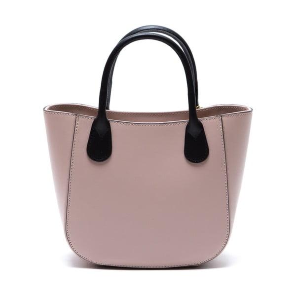 Kožená kabelka Coci, růžová