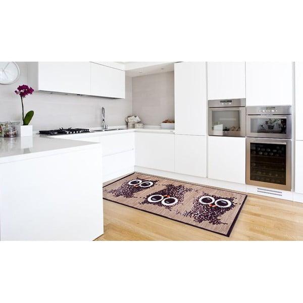 Vysoce odolný kuchyňský běhoun Floorita Gufocaffe,60 x 150cm