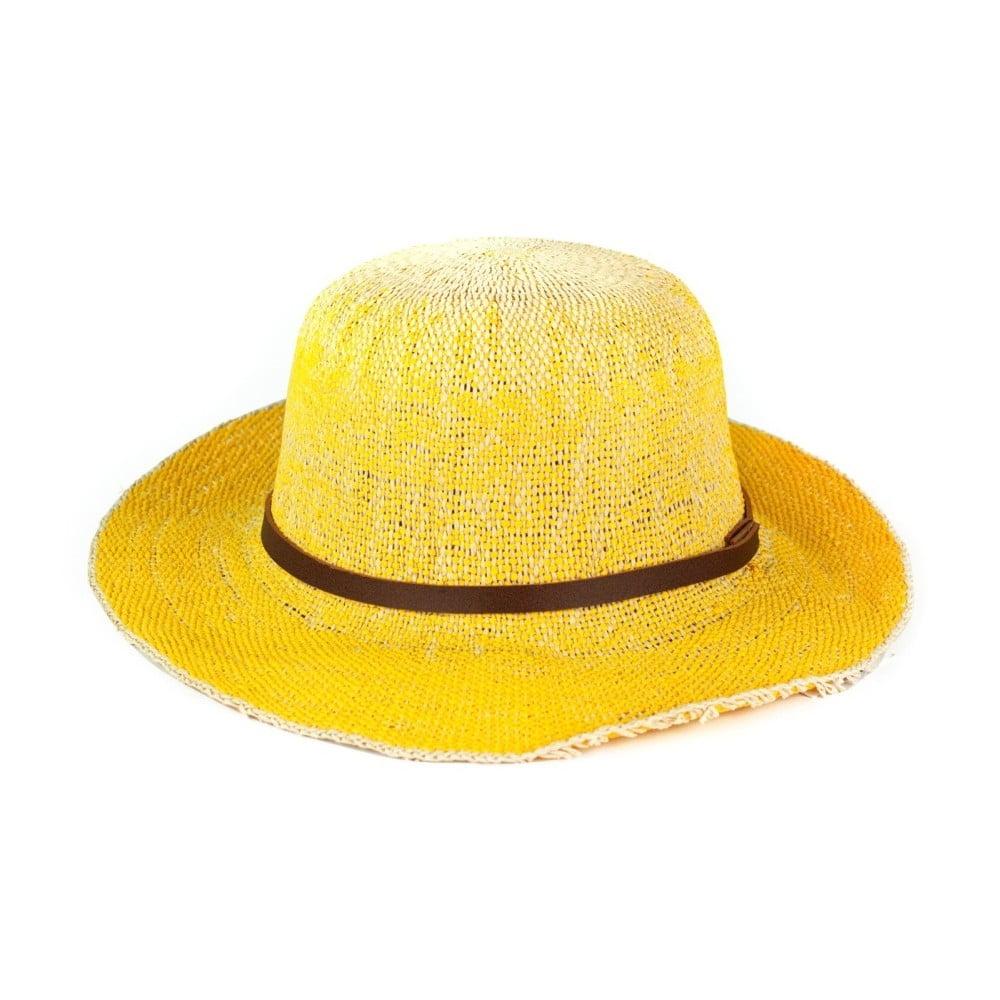 Žlutý klobouk Art of Polo Pastel