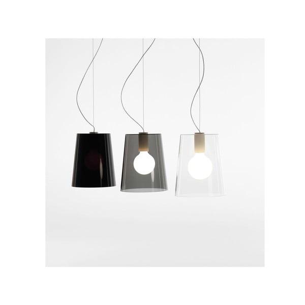Závěsné svítidlo Pedrali L001S/A, plné černé