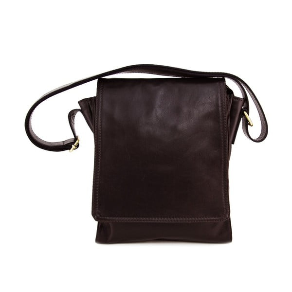 Kožená unisex taška Norado Testa Moro