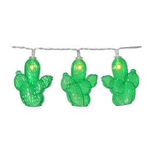 Decoraţiune luminoasă LED Best Season Cactus, 10 becuri