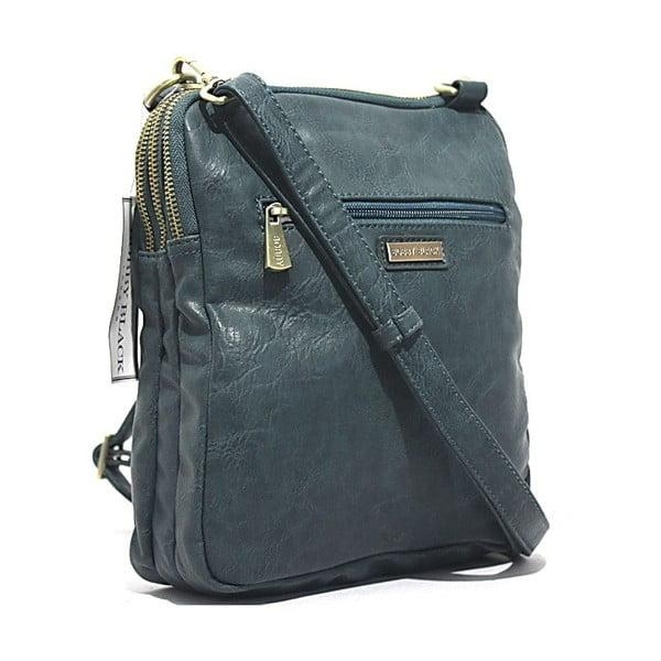 Taška přes rameno Bobby Black - modrá, 22x26 cm