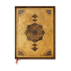 Zápisník s měkkou vazbou Paperblanks Safavid, 18x23cm