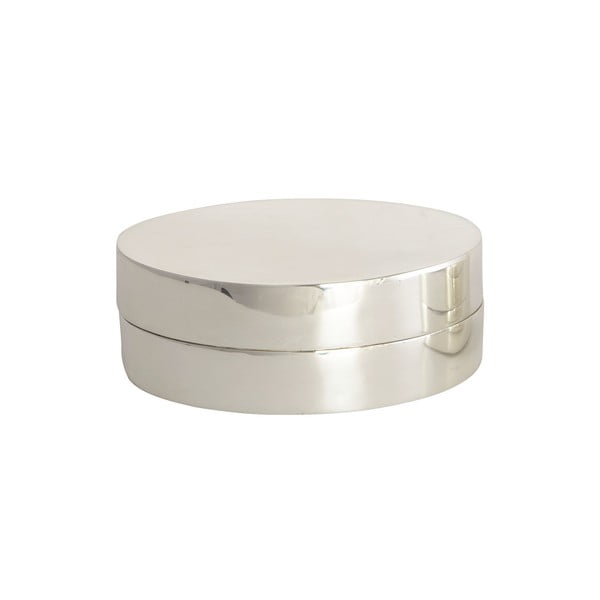 Dózička Lux, stříbrná