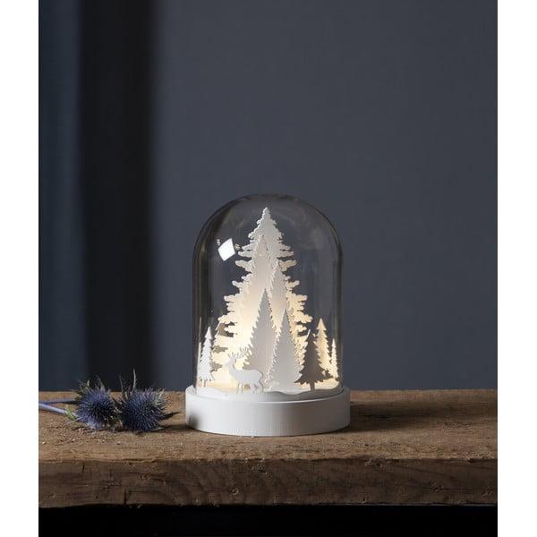 LED svetelná dekorácia Best Season kupolu Tree, výška 17,5 cm