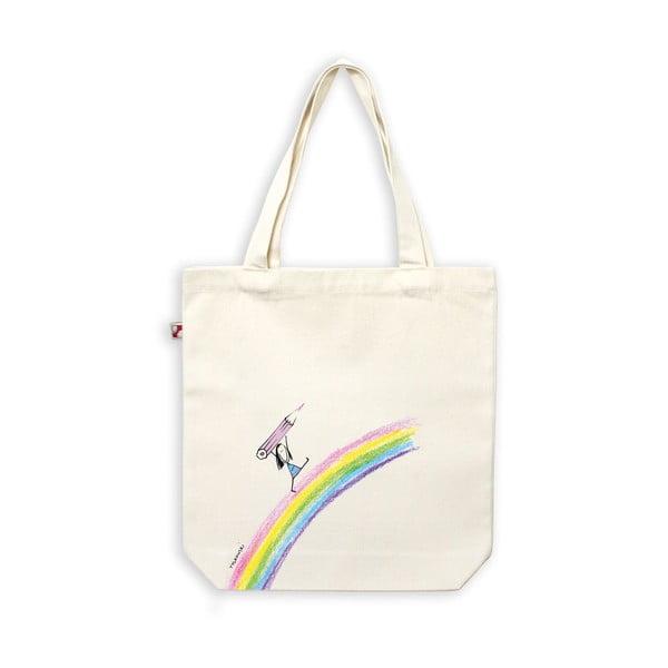 Plátěná taška Duha