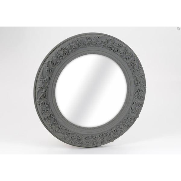 Zrcadlo Round Grey, 100 cm