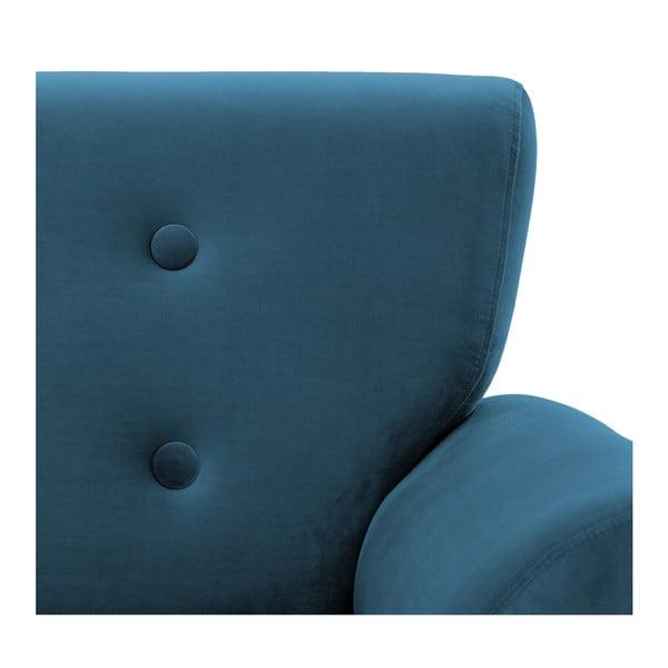 Modrá 3místná pohovka Vivonita Kiara Aqua