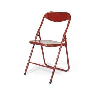 Skládací židle Harrison, červená