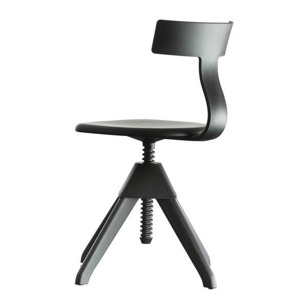 Černá kancelářská židle Magis Tuffy