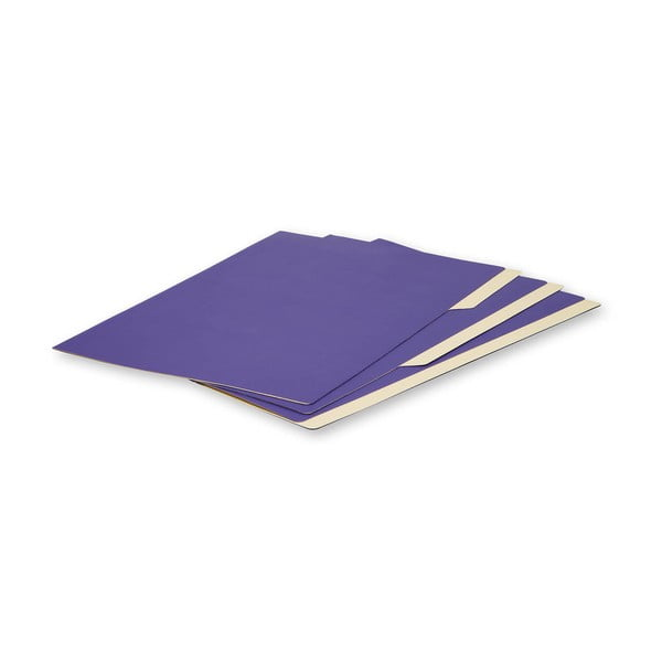 Sada 3 ks složek Moleskine Folio Filer Magenta, A4
