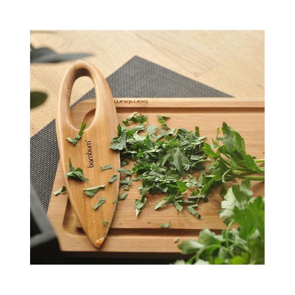 Bambusový nůž na bylinky Bambum Gaas
