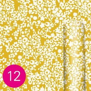 Žlutý balící papír Caroline Gardner