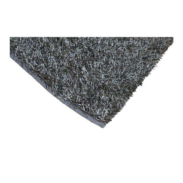 Šedý koberec Webtappeti Shaggy, 120x170cm