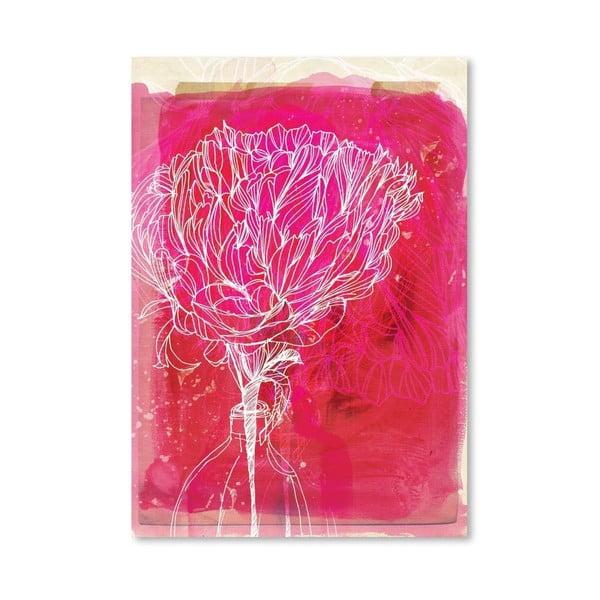Plakát Peony, 30x42 cm